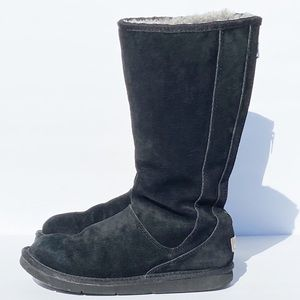 Uggs Black Tall Zipper Boots